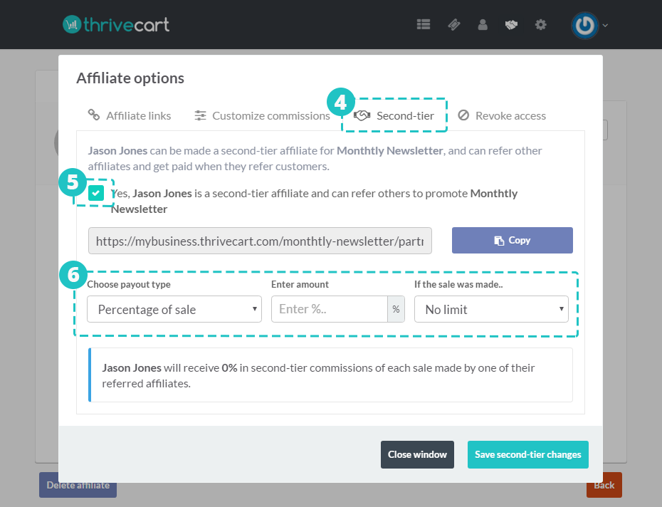 Thrivecart Tier 2