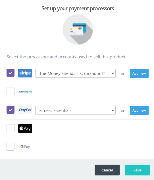 Thrivecart Payments