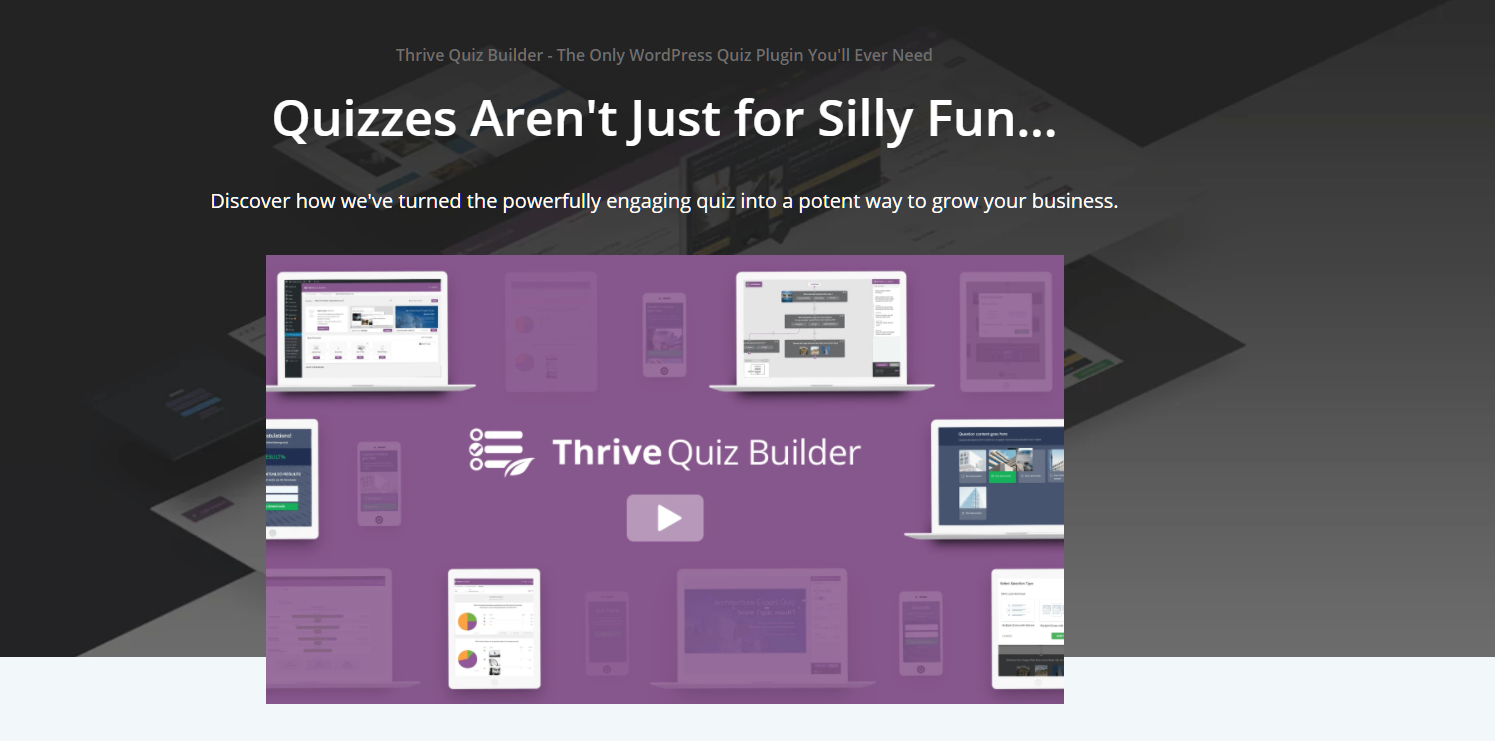 Thrive Quiz Builder
