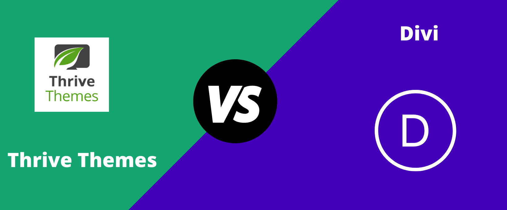 ThriveThemes Vs Divi